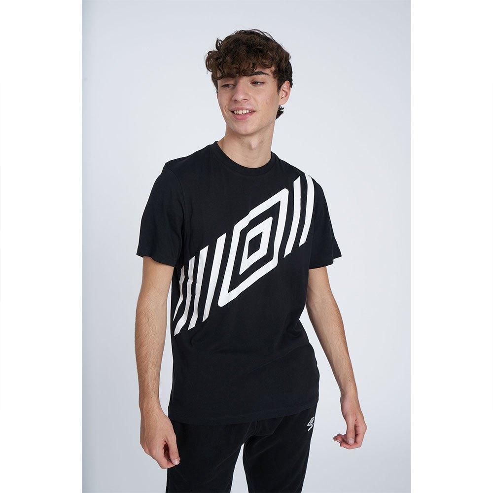 Umbro T-shirt Manche Courte Diamond Sash Graphic S Black
