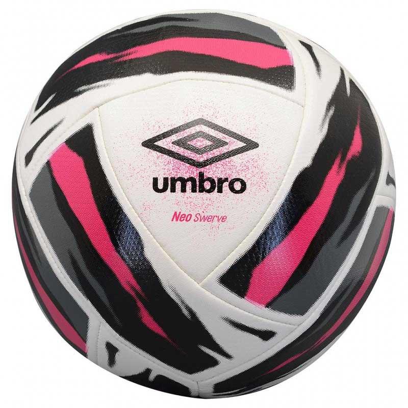 Umbro Ballon Football Neo Swerve 5 White / Black / Pink Peacock