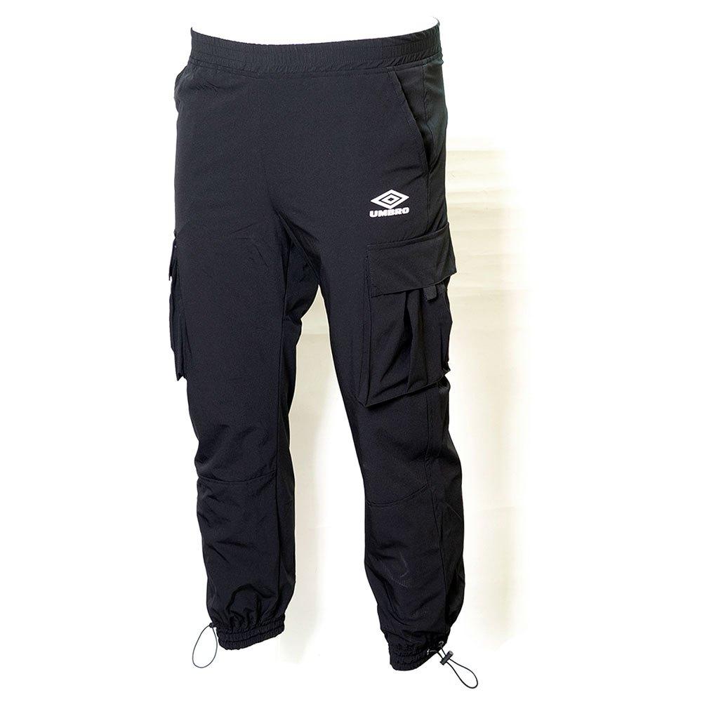 Umbro Pantalon Longue Resort Cargo Shell S Black / Scuba