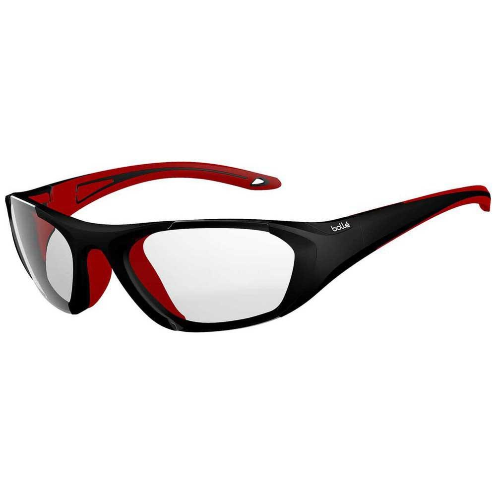Bolle Baller Junior PC Clear Platinum/CAT0 Matte Black / Red