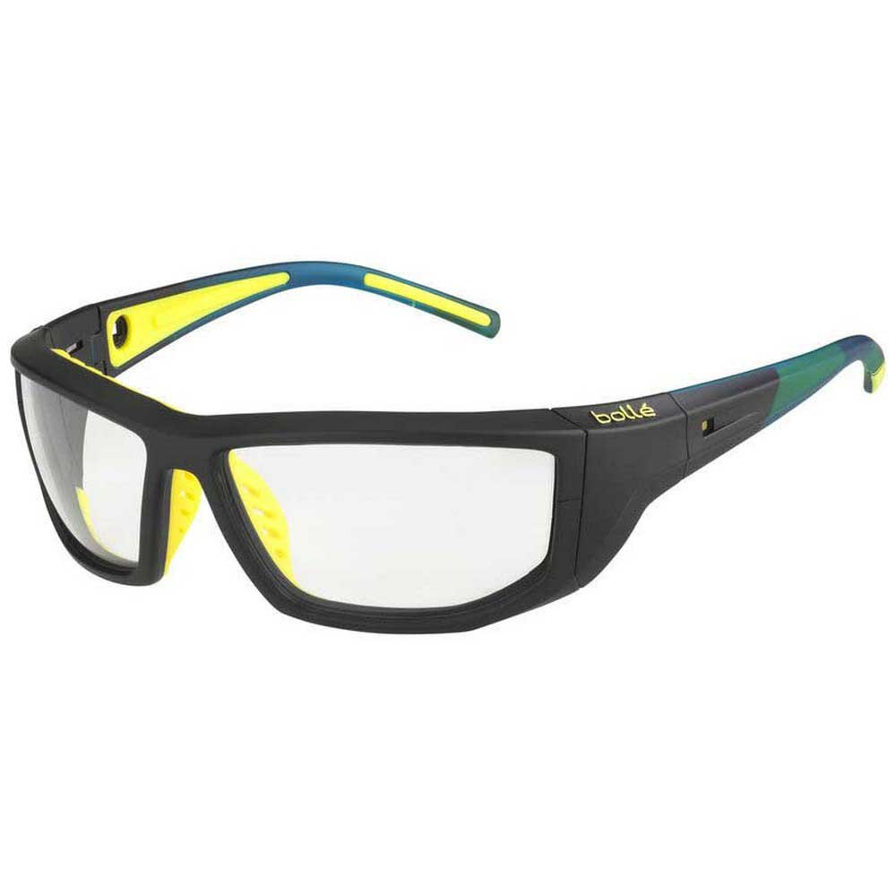 Bolle Playoff PC Clear AF/CAT0 Matte Black / Yellow
