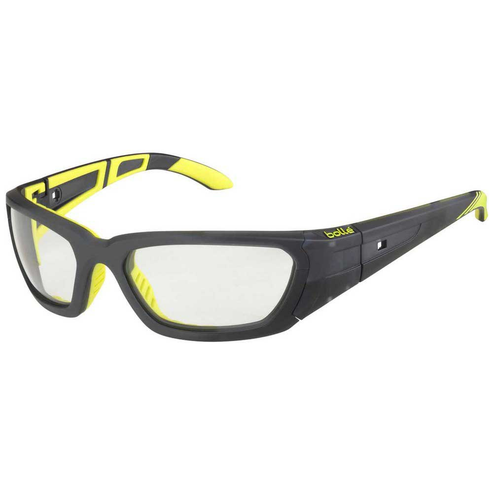Bolle League PC Clear AF/CAT0 Matte Grey / Yellow