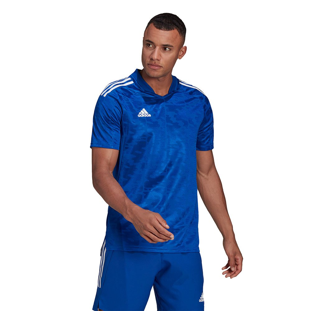 Adidas T-shirt Manche Courte Condivo 21 XXL Team Royal Blue / White