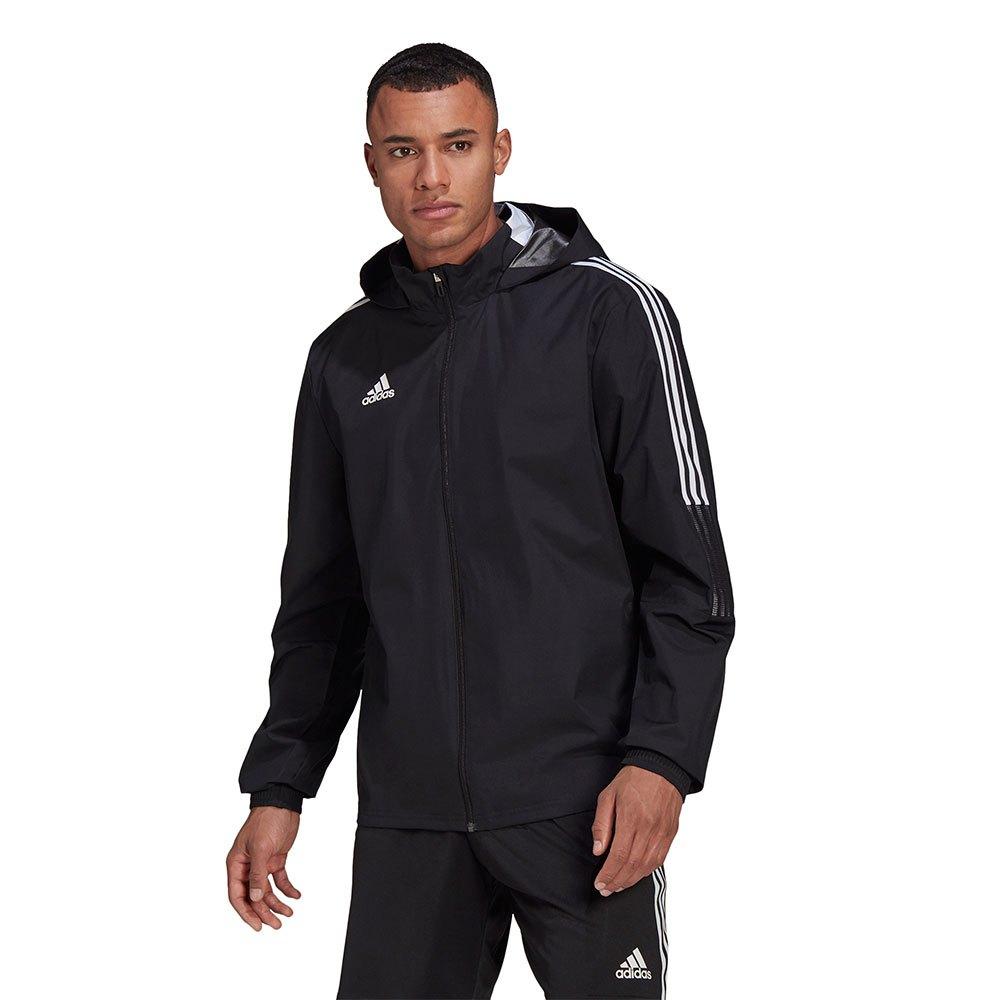 Adidas Veste Tiro 21 All Weather S Black