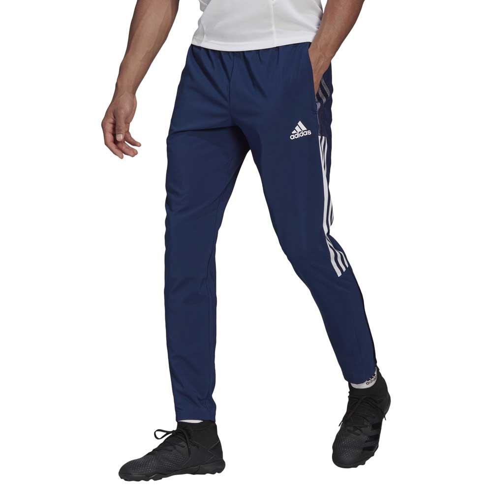 Adidas Pantalon Longue Tiro 21 Woven S Team Navy Blue