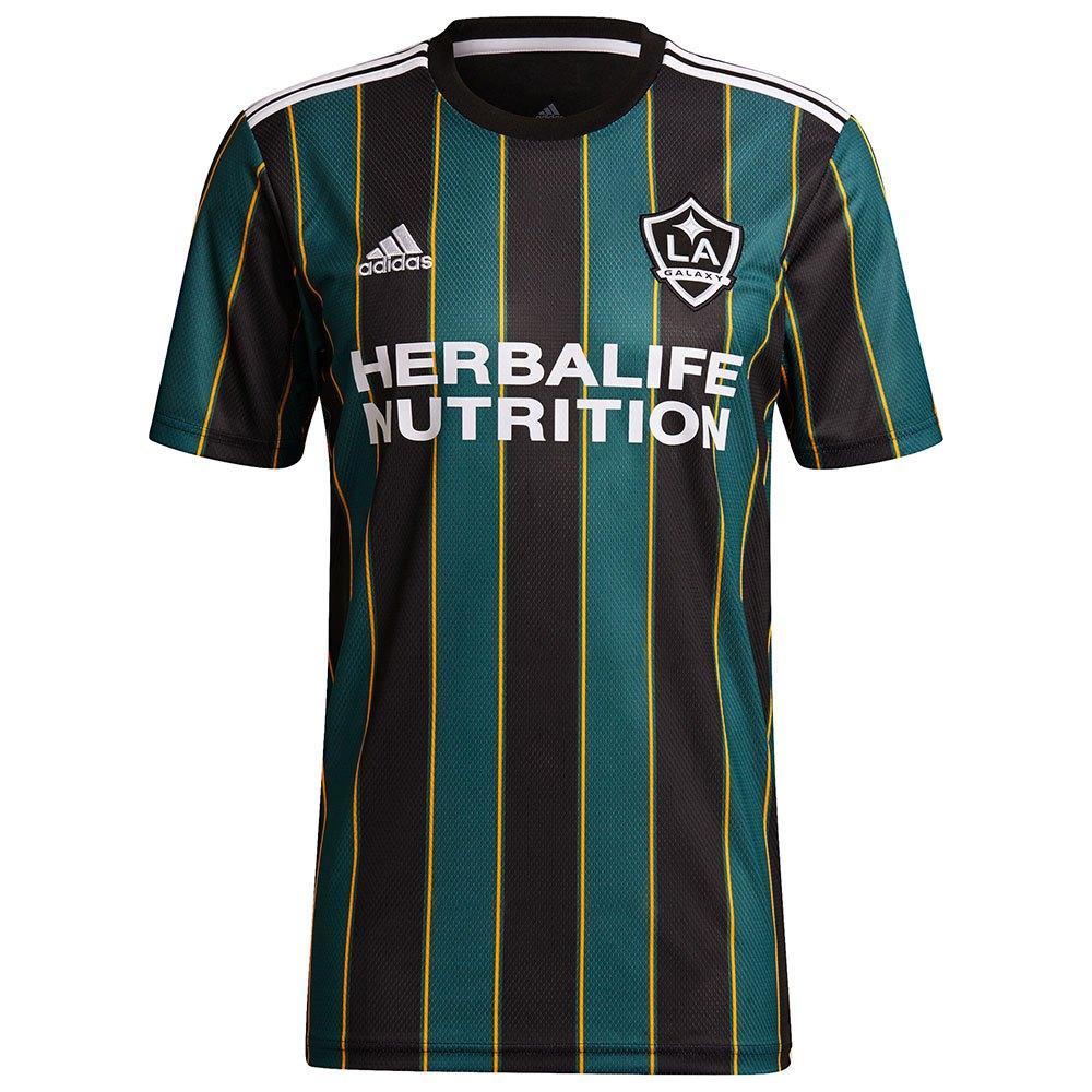 Adidas T-shirt Los Angeles Galaxy Extérieur 20/21 S Black / Tech Green / White