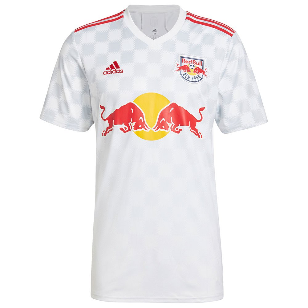 Adidas T-shirt New York Red Bull Domicile 20/21 XS White / Red