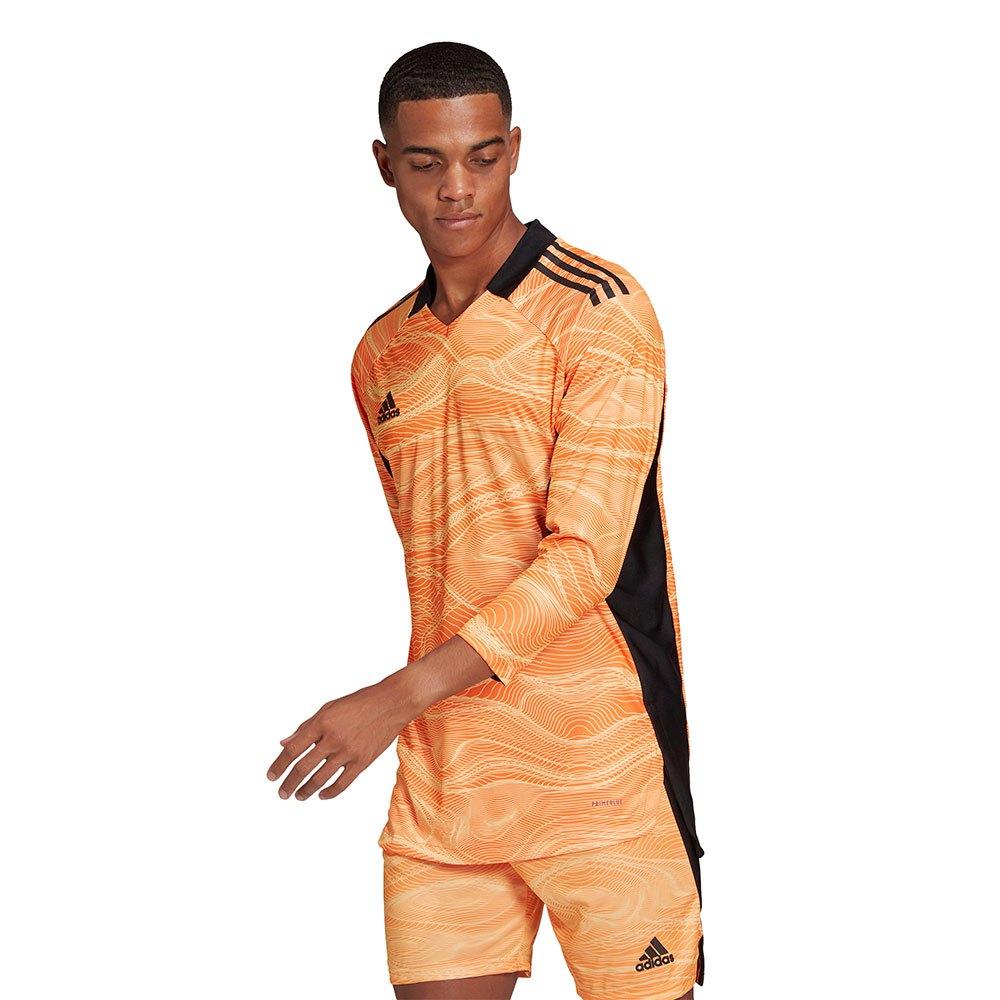Adidas Condivo 21 Long Sleeve T-shirt XS Acid Orange
