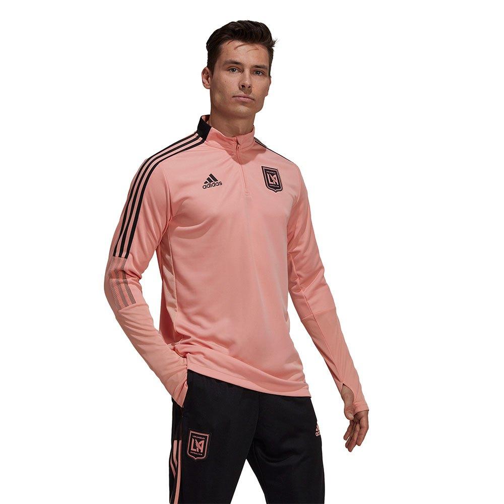 Adidas T-shirt Los Angeles Fc Entraînement 20/21 S Trace Pink