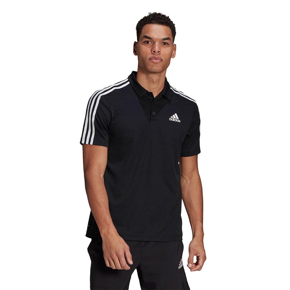 Adidas Polo Manche Courte 4 Stripes XL Black