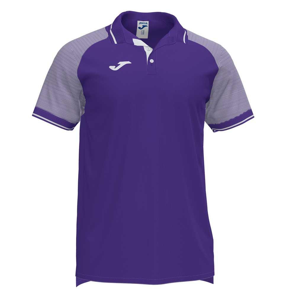 Joma Polo Manche Courte Essential Ii M Purple