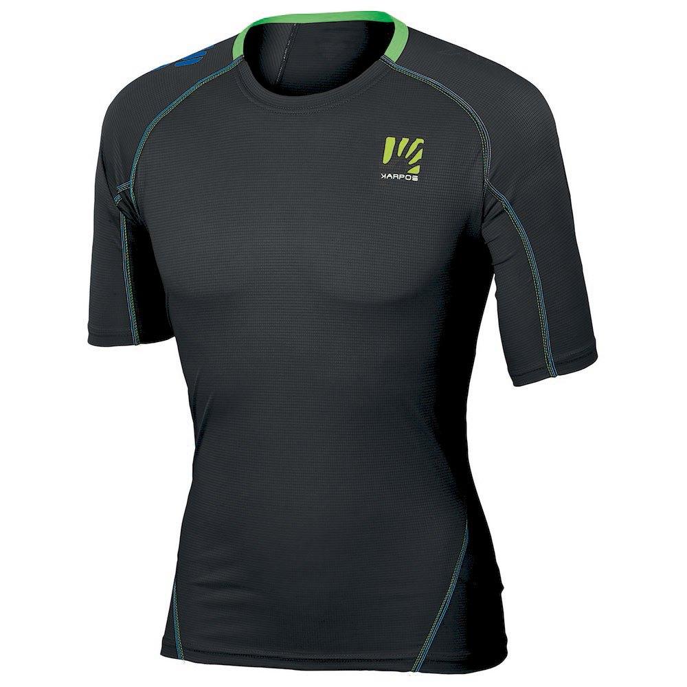 Karpos T-shirt Manche Courte Swift XXXL Black / Green Fluo