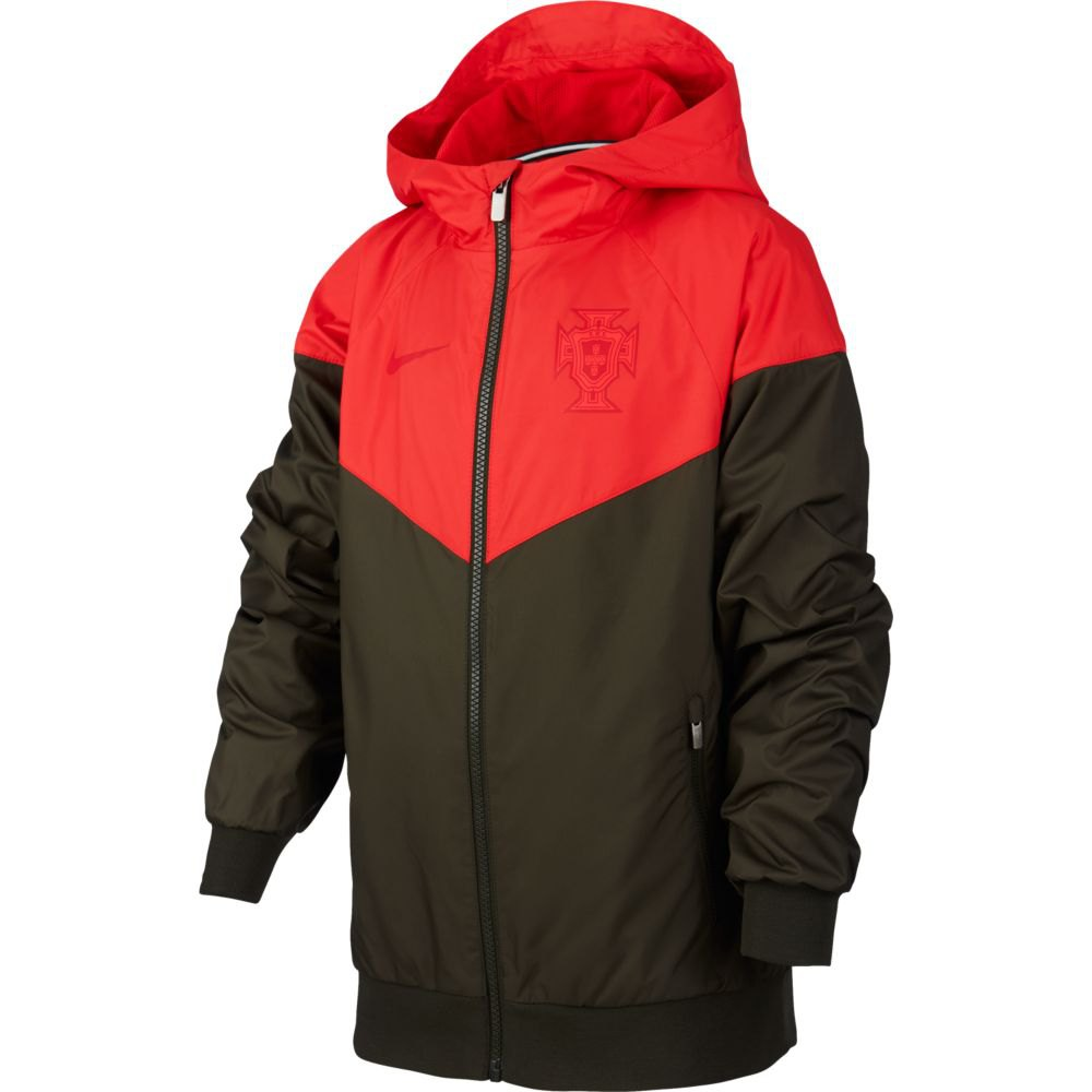 Nike Portugal Windrunner 2020 Junior S Sequoia / Sport Red / Sequoia / Gym Red