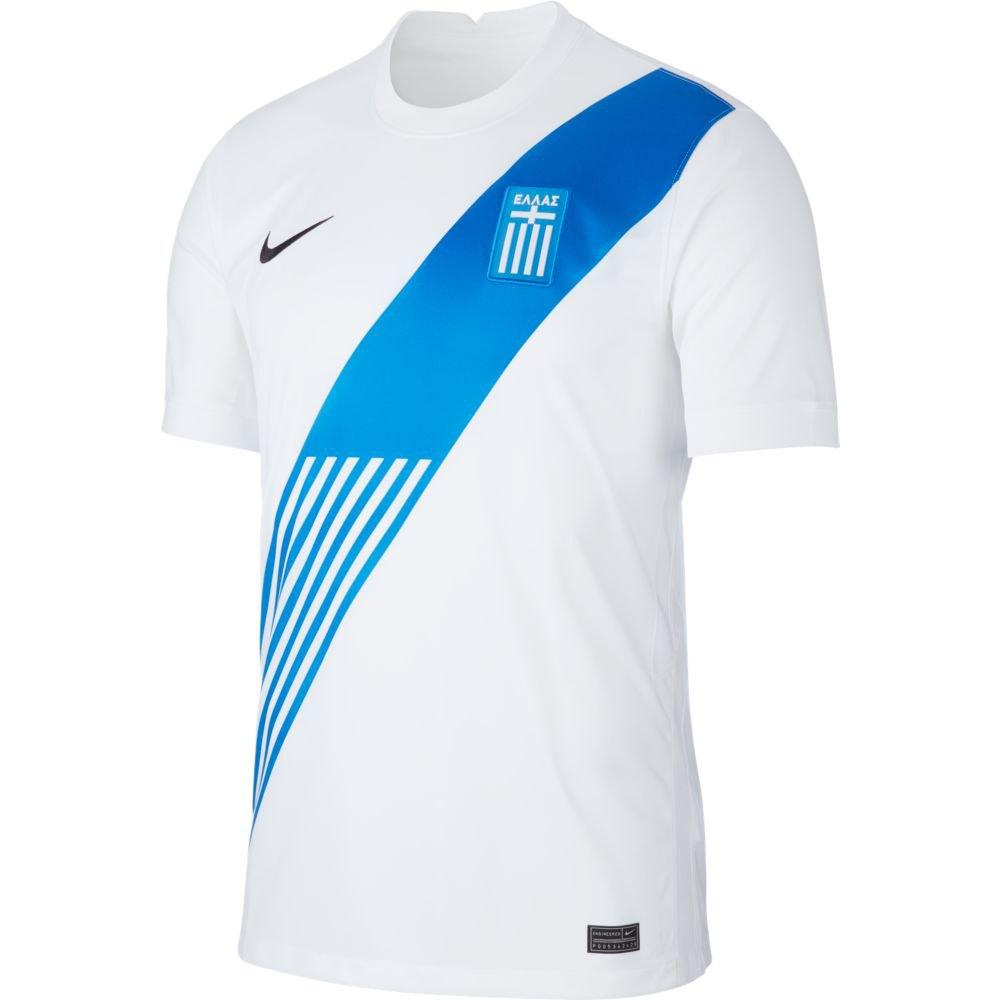 Nike Greece Breathe Stadium Home 20/21 S White / Black