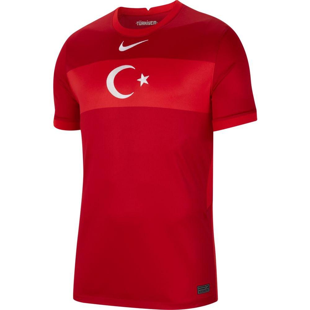 Nike T-shirt Turkey Breathe Stadium Extérieur 20/21 S Gym Red / Sport Red / White