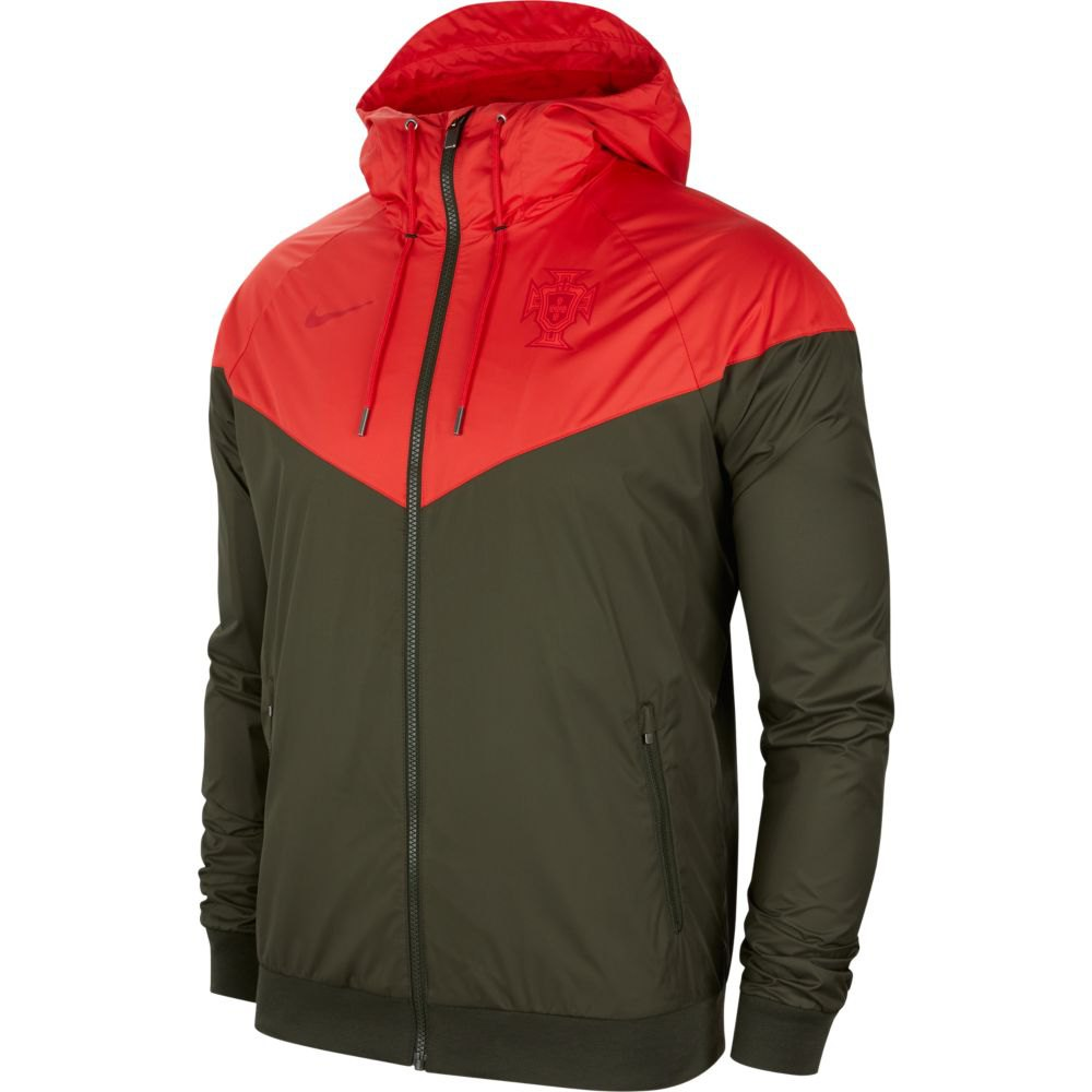 Nike Portugal Windrunner 2020 S Sequoia / Sport Red / Sequoia / Gym Red