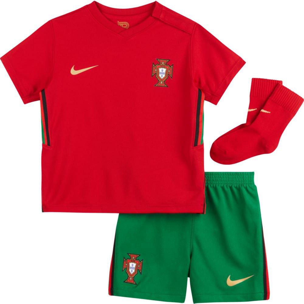 Nike Ensemble Portugal Breathe Infant Domicile 20/21 6-9 Months Gym Red / Metallic Gold