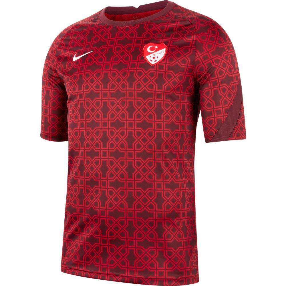 Nike T-shirt Turquie Breathe 2020 L Gym Red / Night Maroon / White