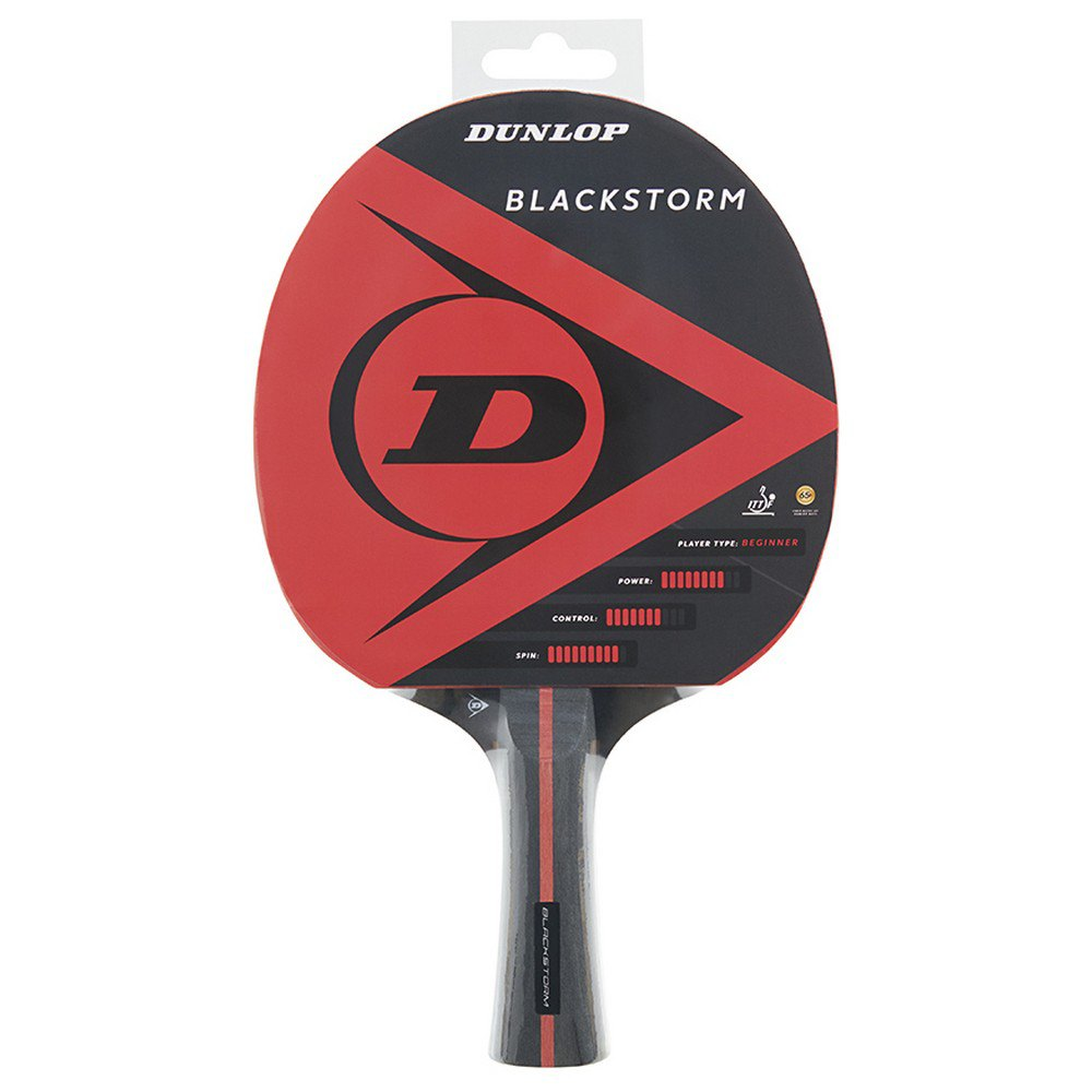 Dunlop Blackstorm Table Tennis Racket One Size Red / Black