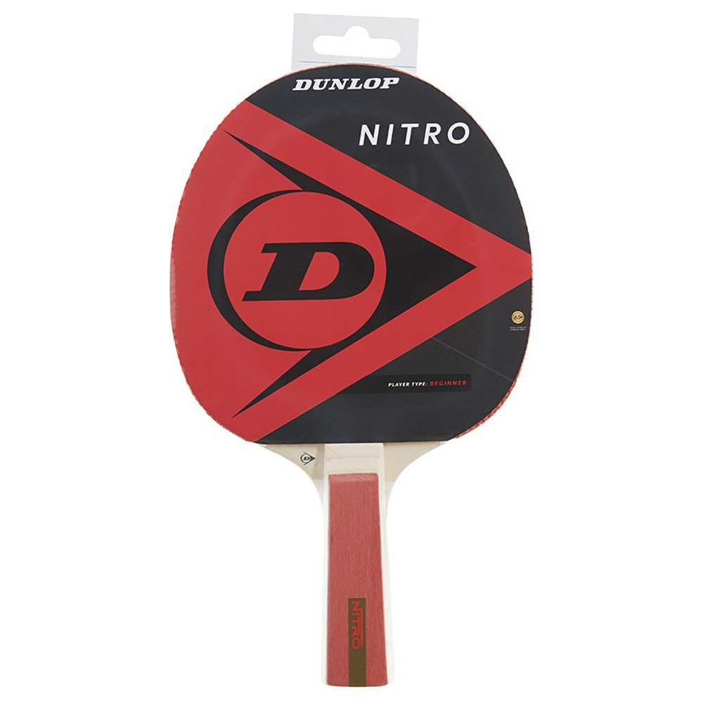 Dunlop Nitro Table Tennis Racket One Size Red / Black