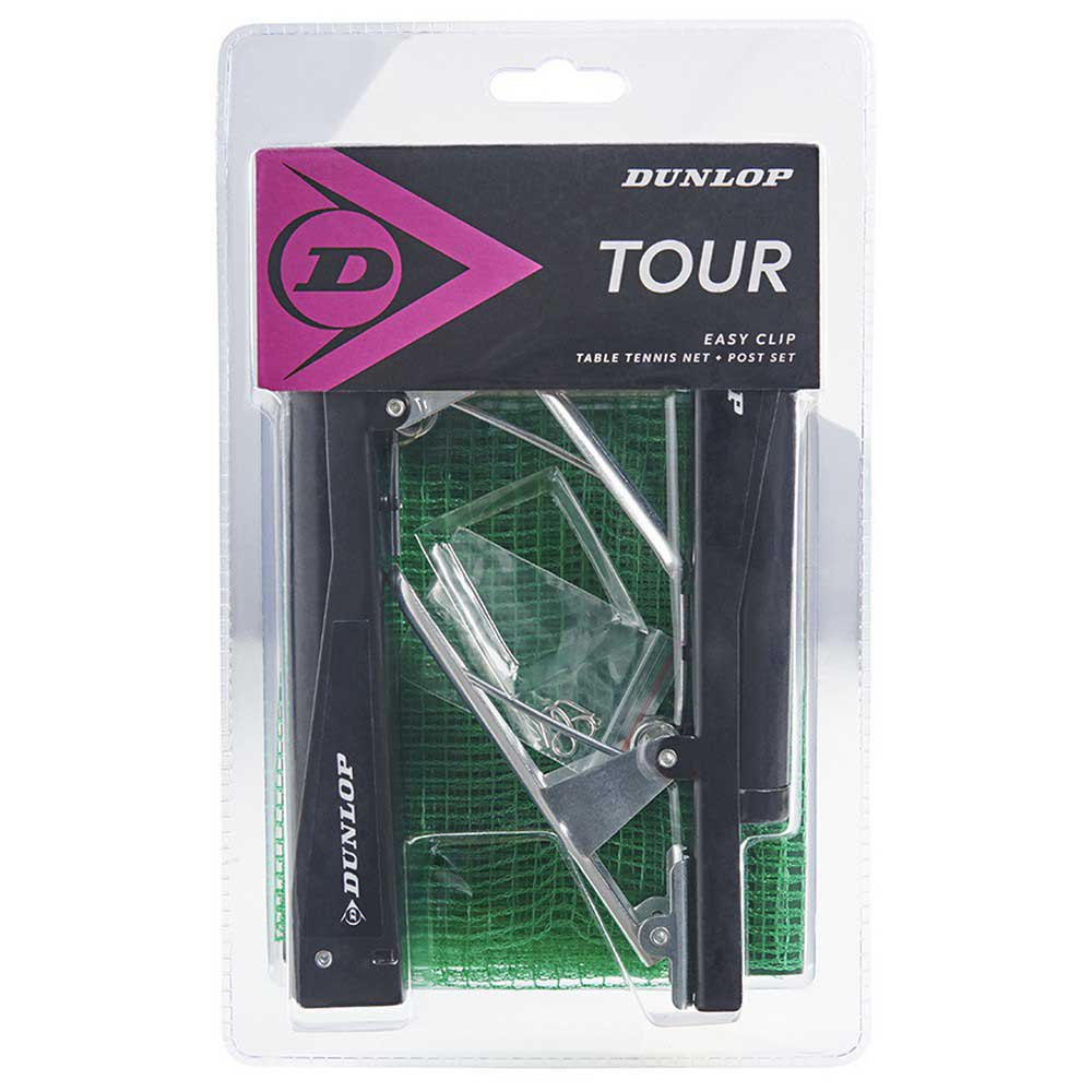 Dunlop Tour Net+poles Set One Size Green / Black