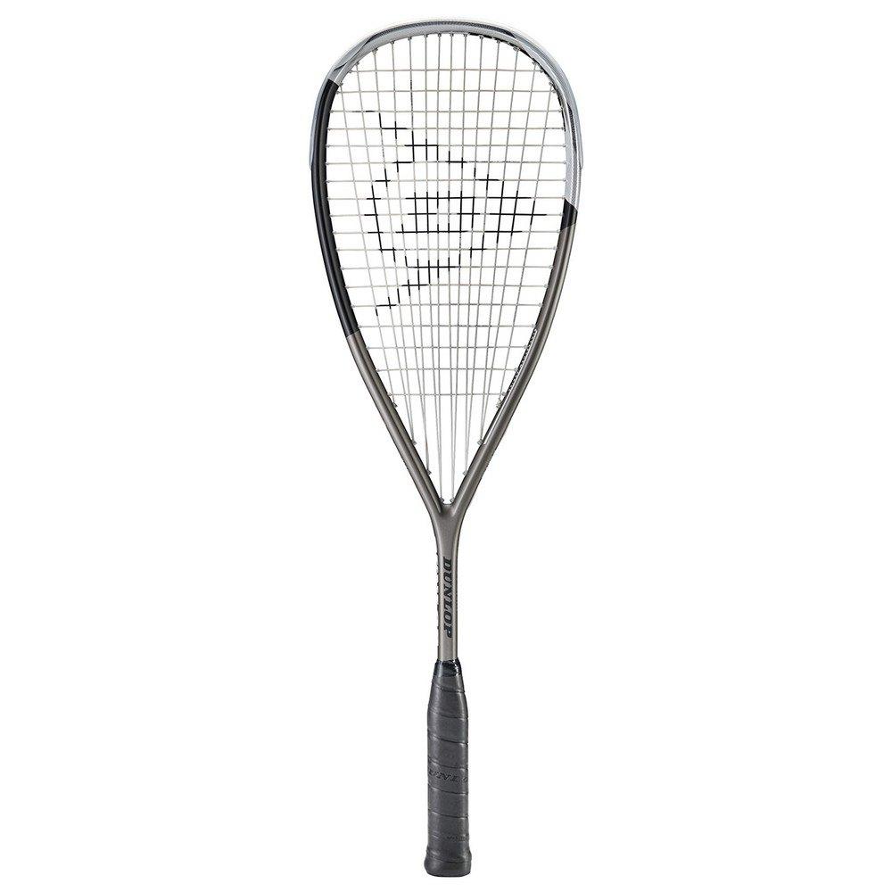 Dunlop Raquette Squash Blackstorm Titanium 5.0 One Size Gunmetal / Black / Silver