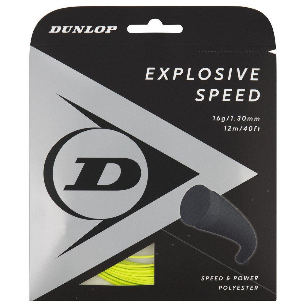 Dunlop Explosive Speed Polyester 12 M 1.30 mm Yellow