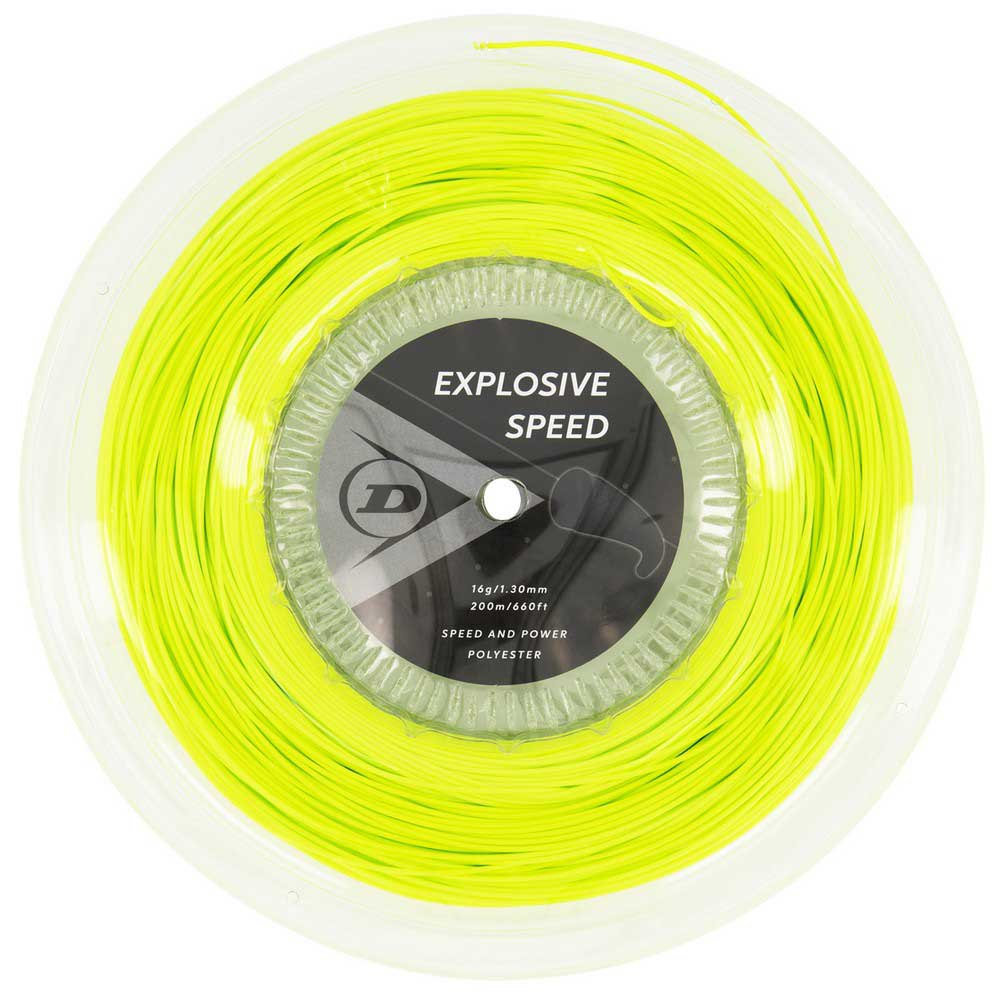 Dunlop Explosive Speed Polyester 200 M 1.30 mm Yellow
