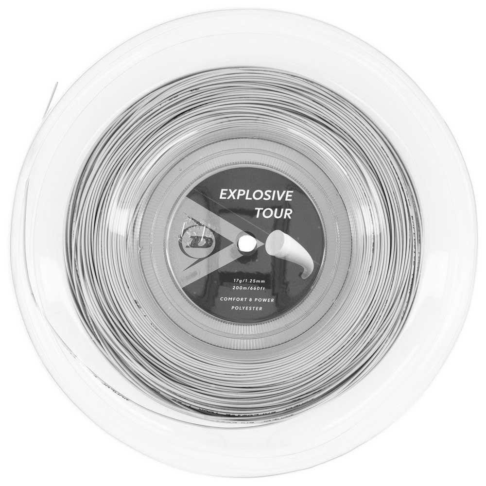 Dunlop Explosive Tour Polyester 200 M 1.25 mm Silver
