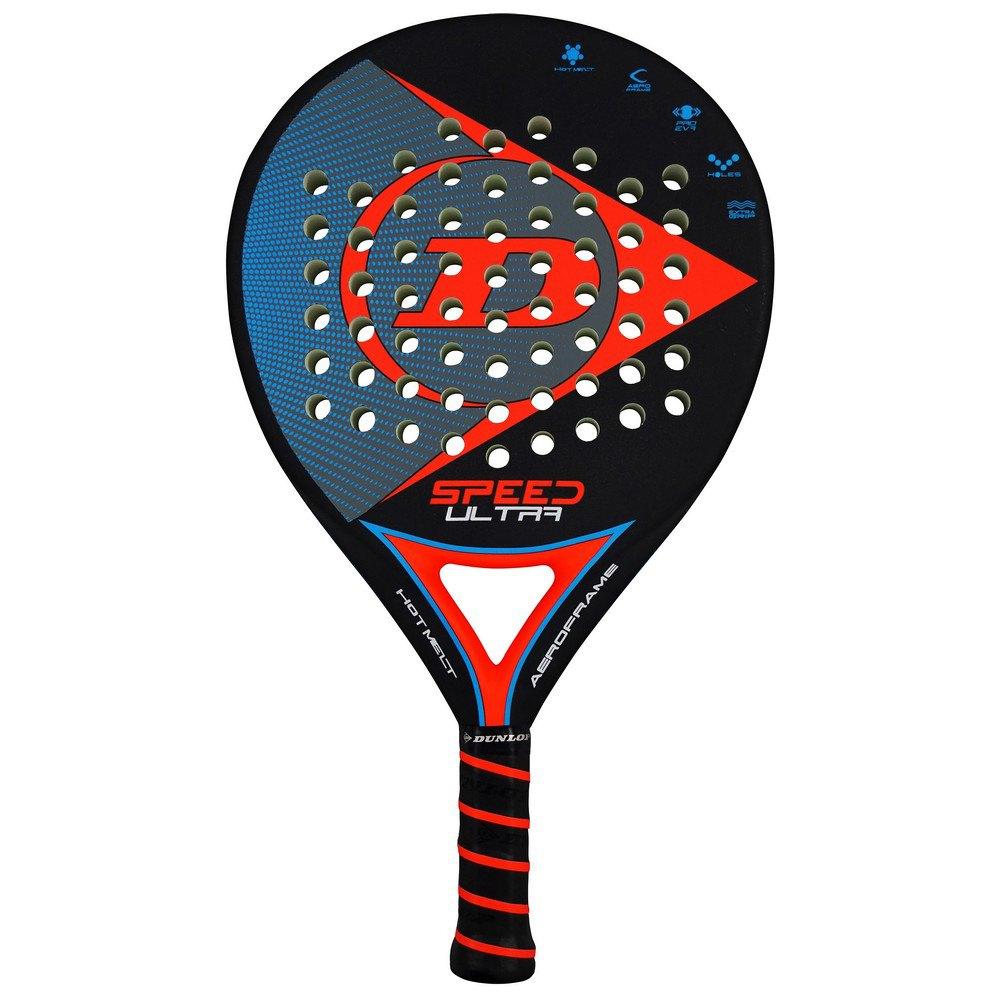 Dunlop Speed Ultra Padel Racket One Size Black / Red / Blue