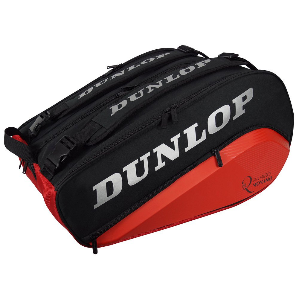 Dunlop Sac Raquette Padel Thermo Elite Ramiro Moyano One Size Black / Red