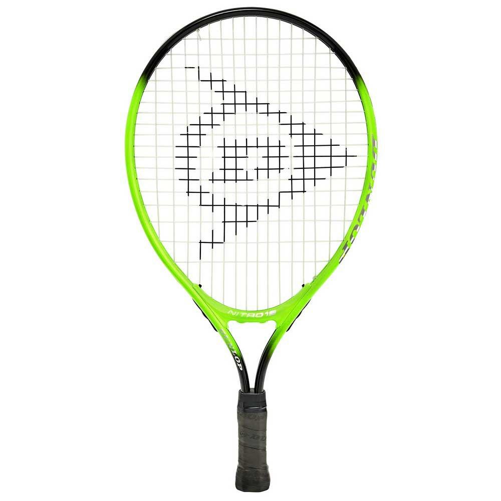 Dunlop Raquette Tennis Nitro 19 0000 Green / Black