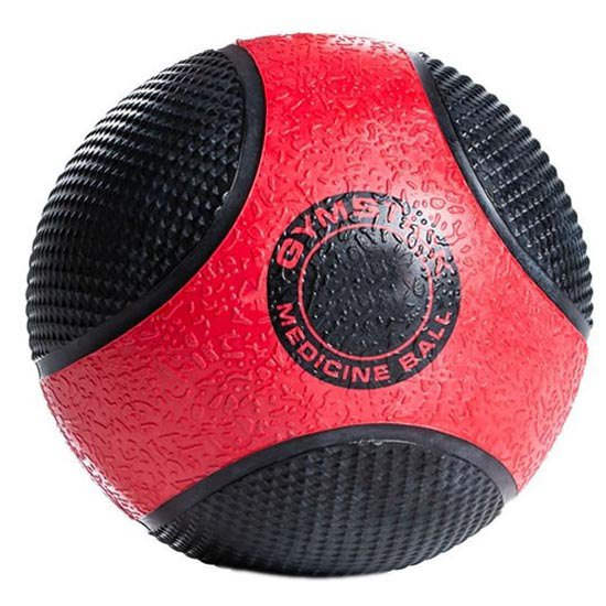 Gymstick Médicine Ball En Caoutchouc 10kg 10 kg Black / Red