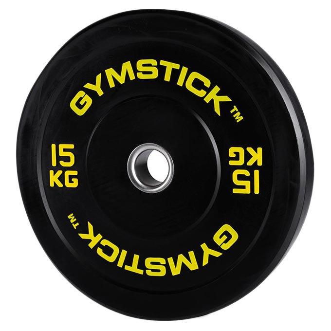 Gymstick Hi-impact Bumper 15 Kg Unit 15 kg Black
