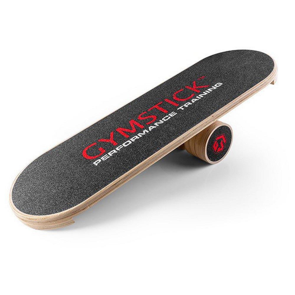 Gymstick Wooden Balance Board 80 x 13 x 26 cm Black