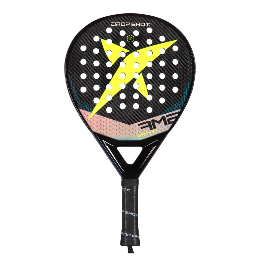 Drop Shot Cristal 2.0 One Size Black / Yellow