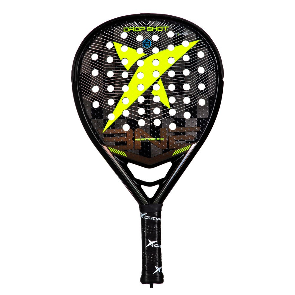 Drop Shot Heritage 2.0 One Size Black / Yellow