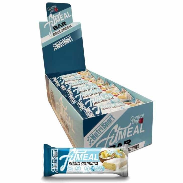 Nutrisport Fit Meal 37.5gr X 28 Bars Yoghurt / Lemon