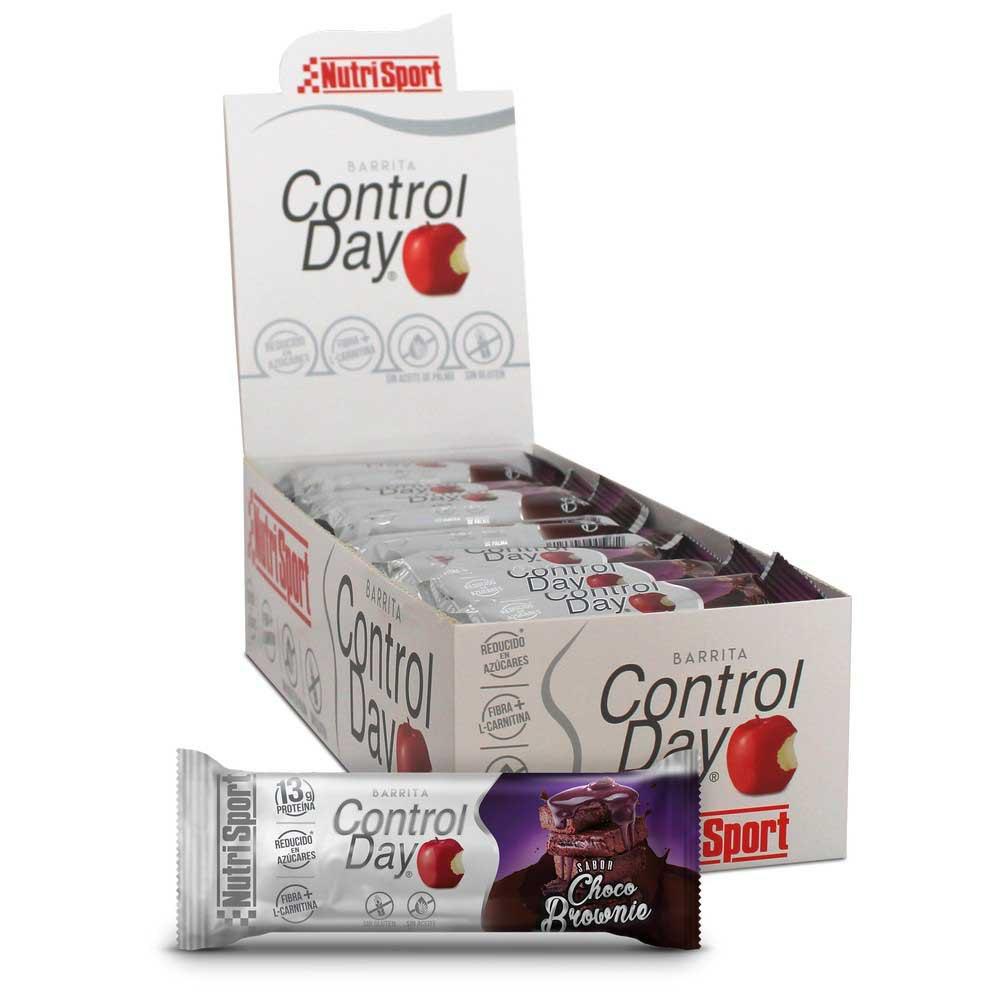 Nutrisport Control Day 44gr X 28 Bars Chocolate / Brownie
