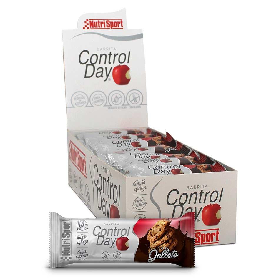 Nutrisport Control Day 44gr X 28 Bars Cookie