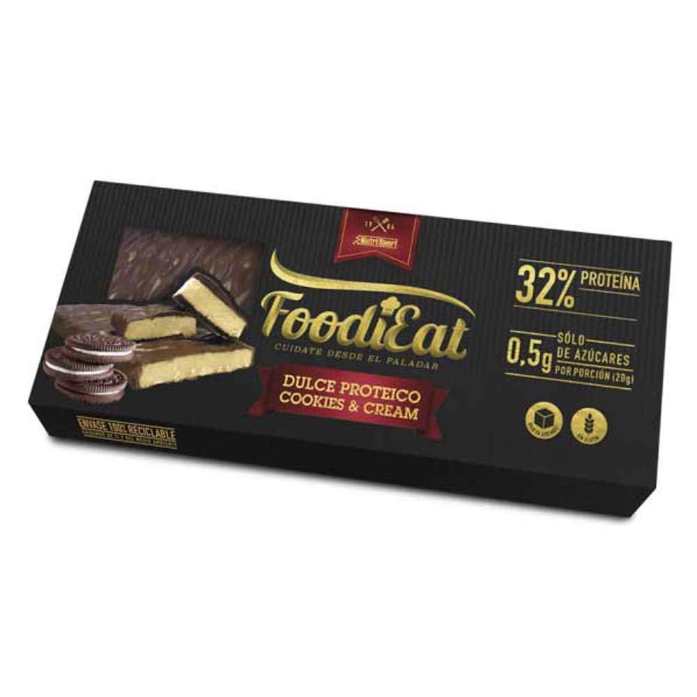 Nutrisport Foodieat 170gr Cookie&cream One Size