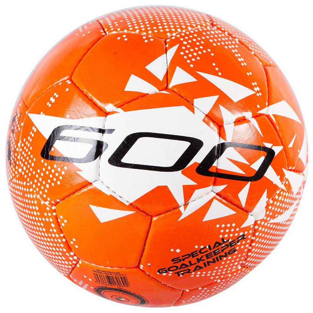 Ho Soccer Ballon Football Penta 600 5 Fluo Orange / Black