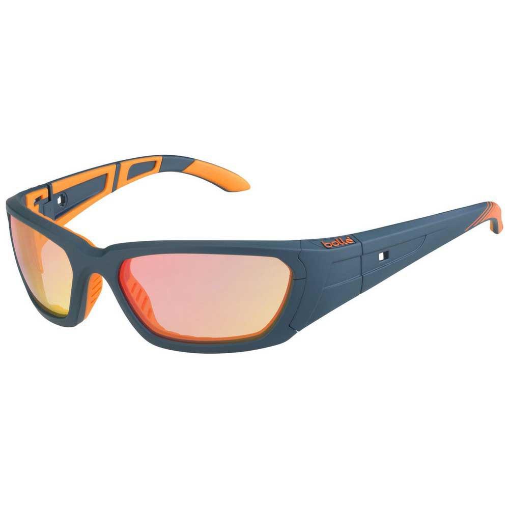 Bolle League Photochromic PC Flash Fire AF/CAT0-3 Matte Dark Petrol / Orange