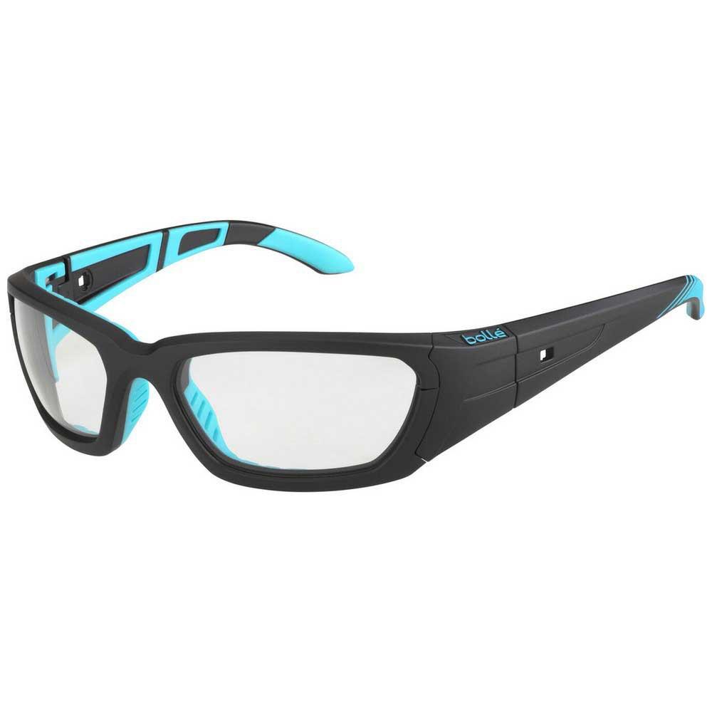 Bolle League Photochromic PC Grey AF/CAT0-3 Matte Black / Blue