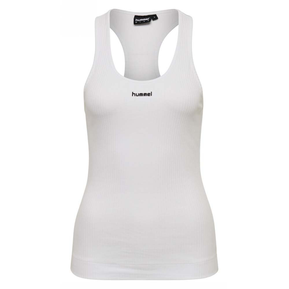 Hummel T-shirt Sans Manches Sol Rib XS White