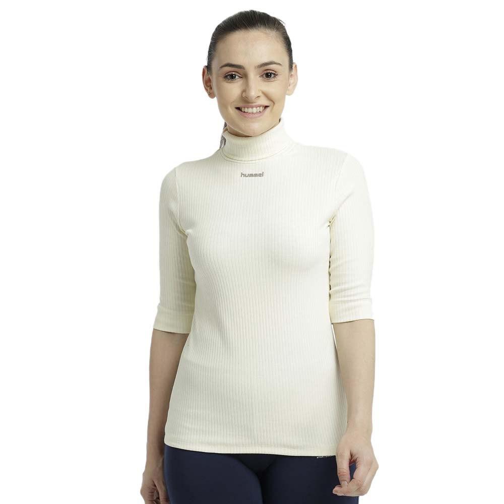 Hummel T-shirt Manche Courte Bell XS White Aspargus