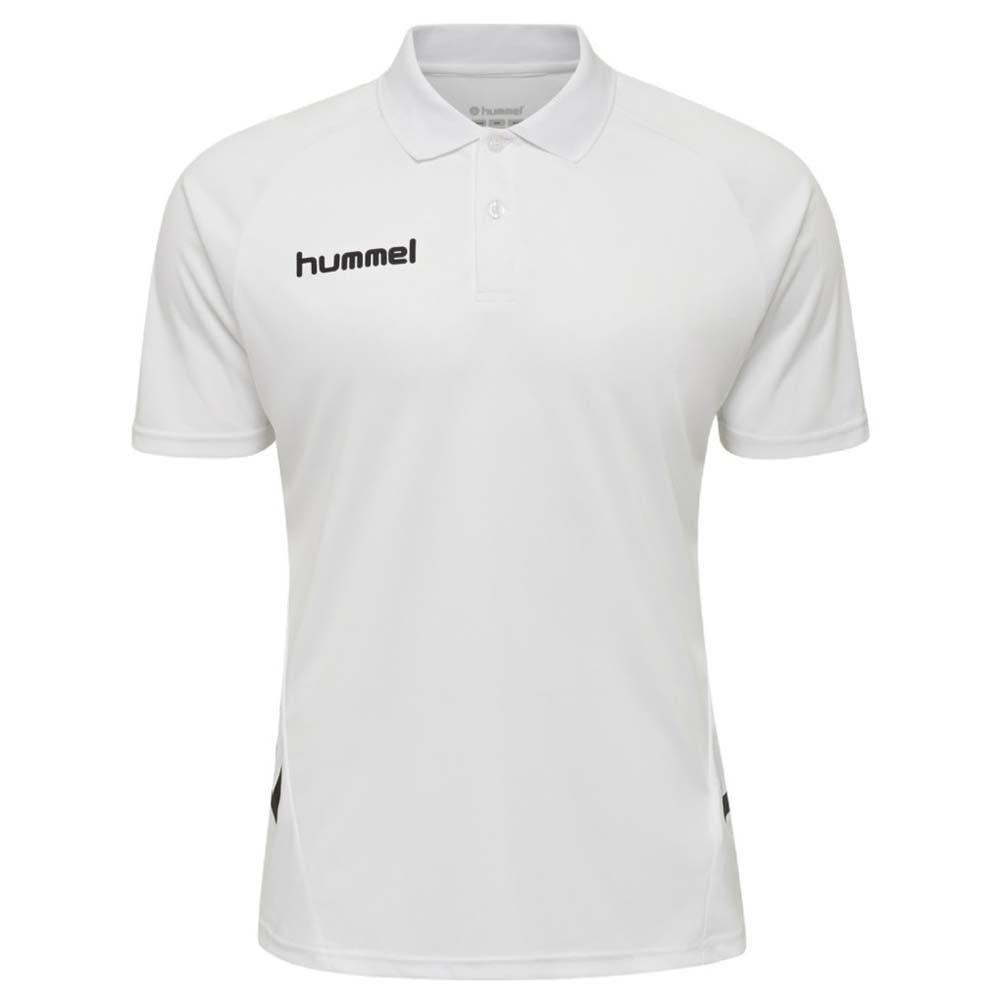 Hummel Polo Manche Courte Promo S White