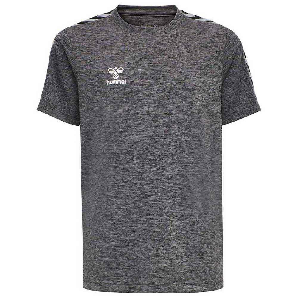 Hummel T-shirt Manche Courte Rene 116 cm Dark Grey Melange