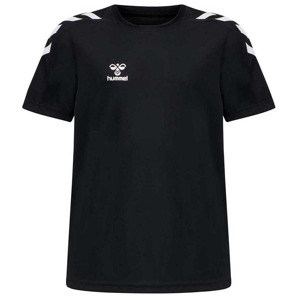Hummel T-shirt Manche Courte Rene 116 cm Black W. Print