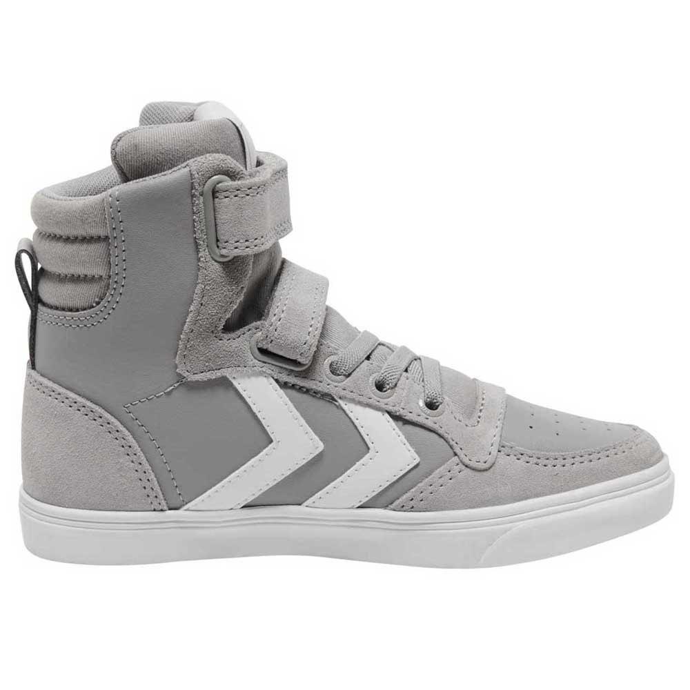 Hummel Chaussures Cuir Slimmer Stadil High EU 26 Alloy